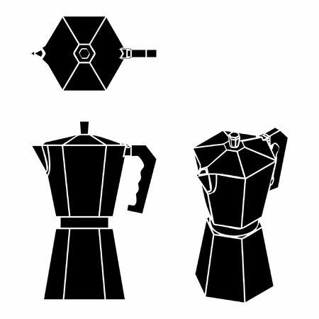 Coffee Pot black fill