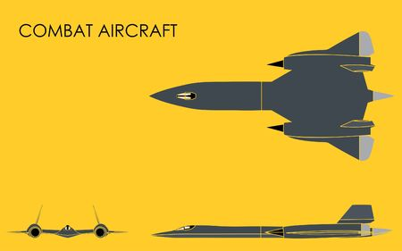 Combat Aircraft without outline
