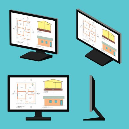 Computer screen drawing