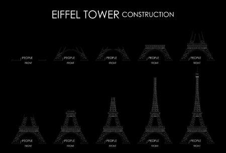Eiffel Tower Construction