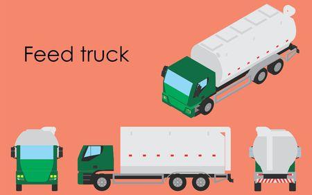 Camion d'alimentation