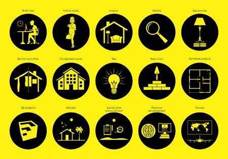 Symbole für Ihren sozialen Netzwerkkreis