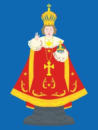 Enfant Jésus de Prague.