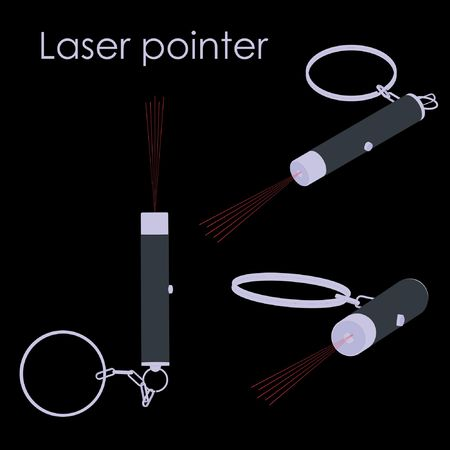 laser pointer Ilustrace