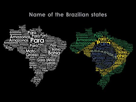 Name of the Brazilian states