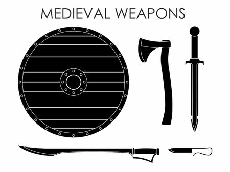 Medieval Weapons black fill