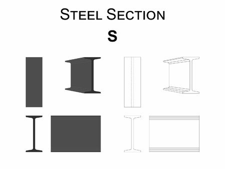 Steel section S