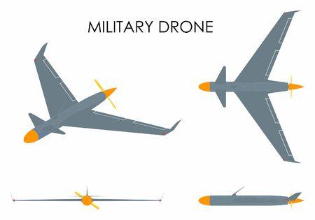 Military drone eagle.
