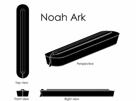 Noah Ark black fill