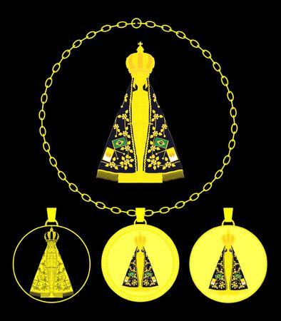 Our Lady Aparecida Gold Medal