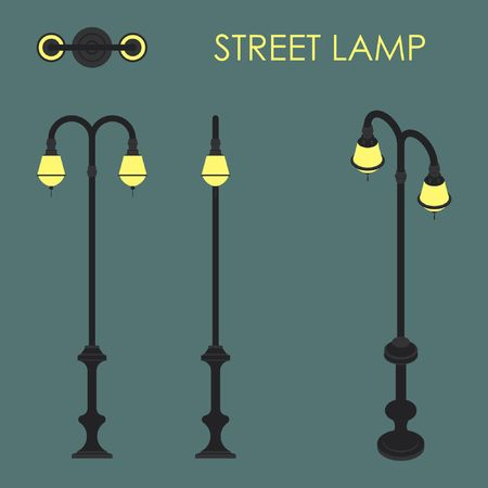 street lamp Illustration