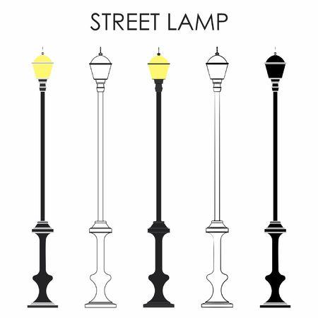 Street classic lamp