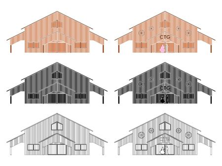 CTG shed colored without outline