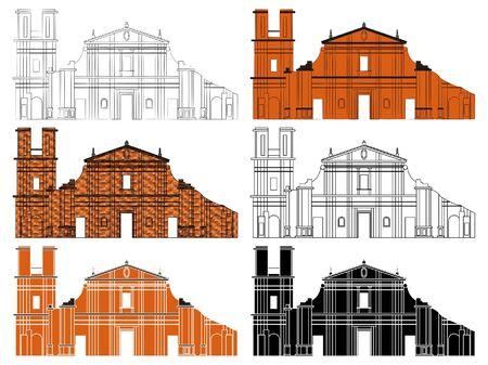 Jesuit Missions - Building facade