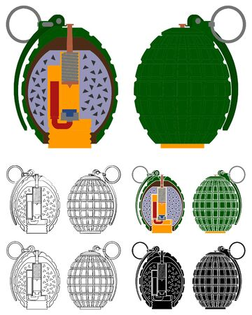 Inside the hand grenade mechanism