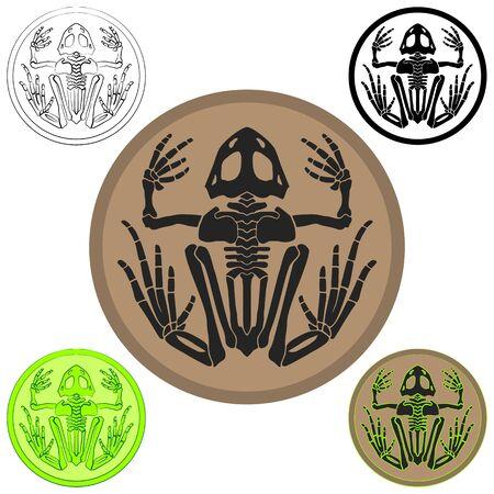 Frogman SEALs symbol Иллюстрация