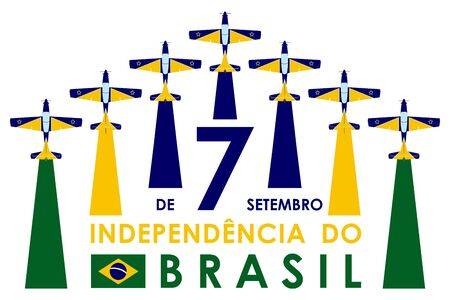September 7th. Independence of Brazil