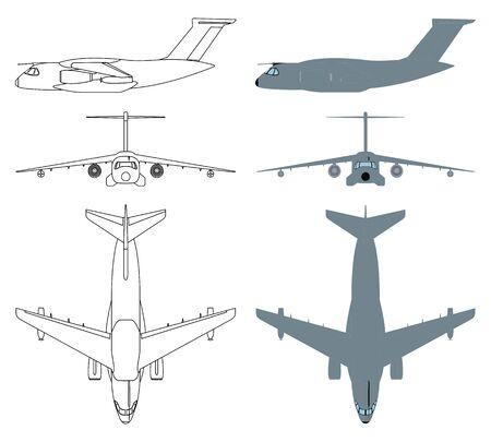 Brazilian military aircraft colored