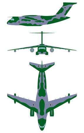 Brazilian military aircraft. Camouflage painting