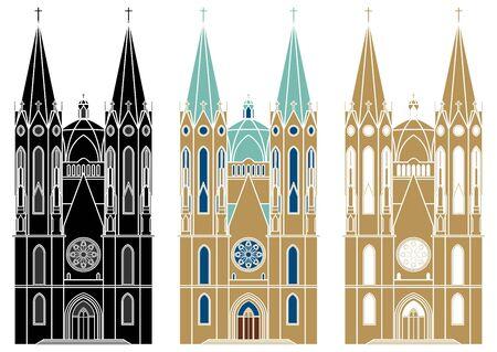 Se catedral de la ciudad de Sao Paulo.