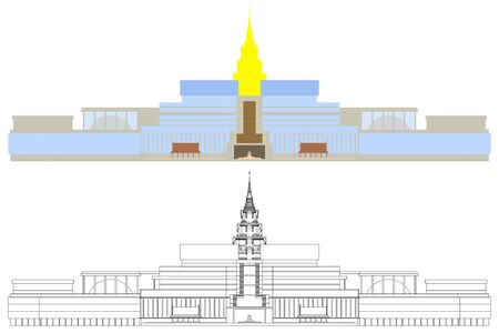New Parliament Building of Thailand