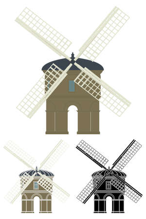 Chesterton Windmill in England, UK