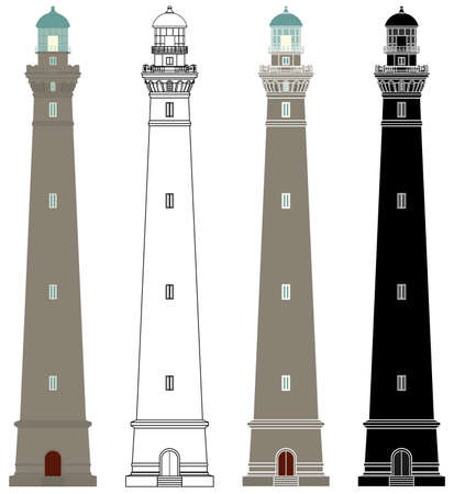 Lighthouses of Virgin Island in France