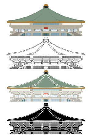 Nippon Budokan arena in Japan