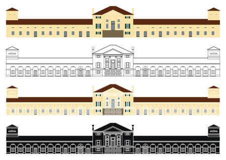 Villa Emo by Andrea Palladio