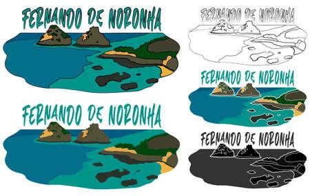 Fernando de Noronha Archipelago, Pernambuco, Brazil.