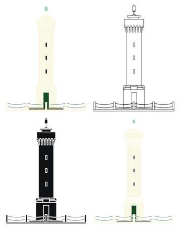 Porto Seguro Lighthouse in Brazil