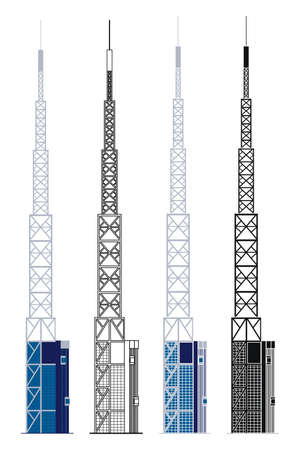 Band Tower in Sao Paulo, Brazil