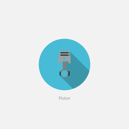 icon piston garage car auto parts maintenance