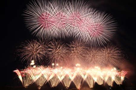 2018 Akagawa Fireworks Festival 写真素材 - 155862276