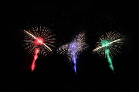 2018 Akagawa Fireworks Festival 写真素材 - 155908804