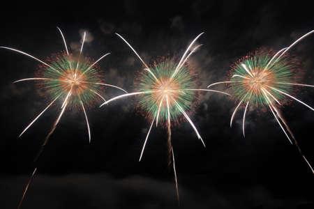 2018 Akagawa Fireworks Festival 写真素材 - 155909024