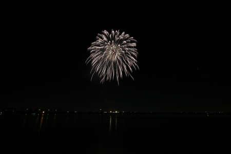 Fireworks in Haruna City