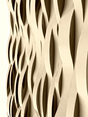 vertical wave sepia alighted abstract cool surface card background illustration Stock Illustration - 15793464