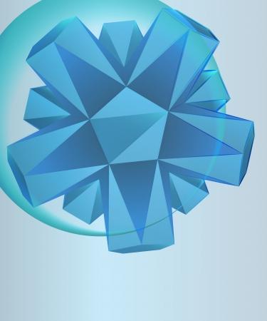 card template triangle shape in left upper corner bubble vector Stock Vector - 16157245