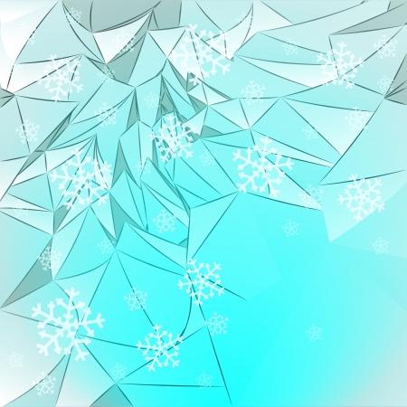 coberto de neve: montanhas cobertas de neve, com queda de neve modelo de cart