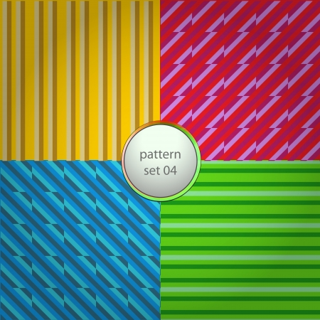 modern pattern types in set background Stock Vector - 17911008