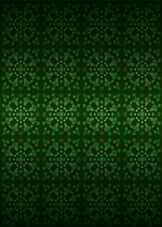 secession: green secession foliage structure pattern vector illustration