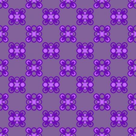 cool violet checked pattern illustration Illustration
