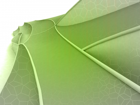 Green shaded shape design wide screen background Stock Photo - 18827491