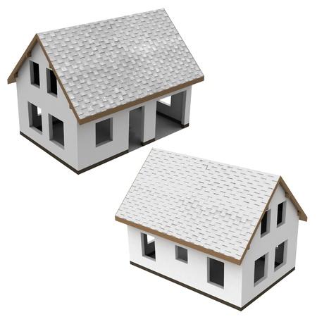 two construction schema design pack illustration Stock Illustration - 21228777
