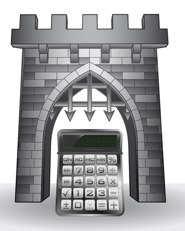 gate pass to mathematics with calculator  Vector