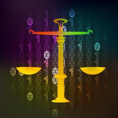 Recht und Gesetz in binärer Internet-Raum