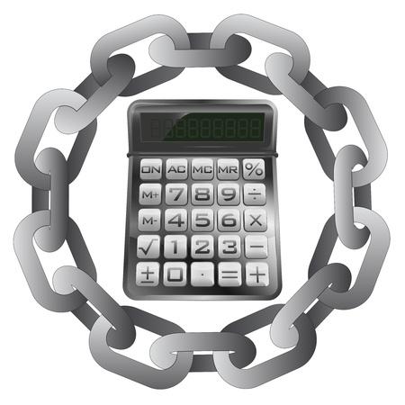 protecting your business: cadena fuerte protecci�n de sus resultados de negocio