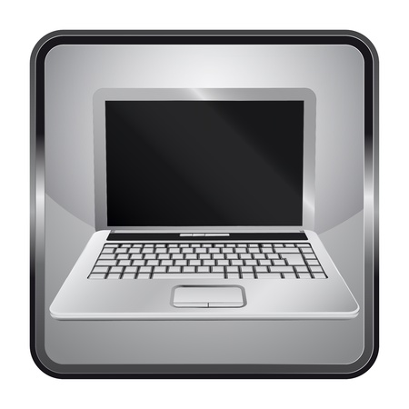 black and white icon with personal notebook  Vector