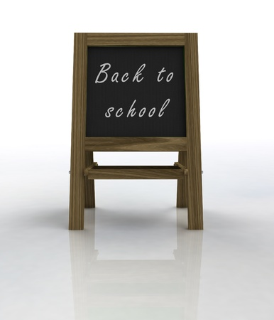 welcoming: welcoming school wooden rack front view illustration